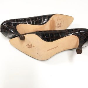 Martinez Valero Shoes - Martinez Valero Heels Alligator Print size 8